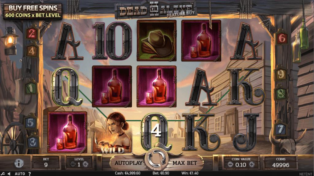 Slot acquisto bonus - Dead or Alive 2
