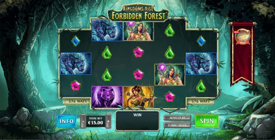 Slot acquisto bonus - Forbidden Forest