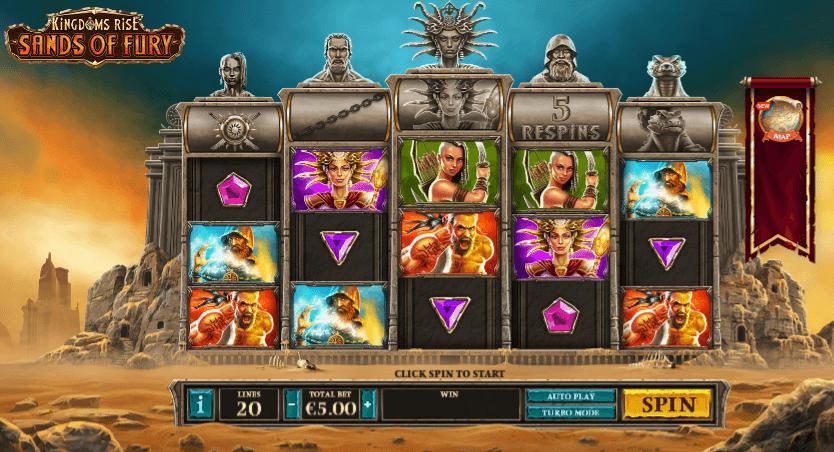 Slot acquisto bonus - Kingdoms Rise: Sands of Fury
