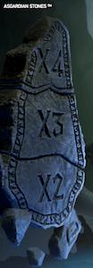 Moltiplicatori fino a x4 nella video slot Asgardian Stones di Netent!
