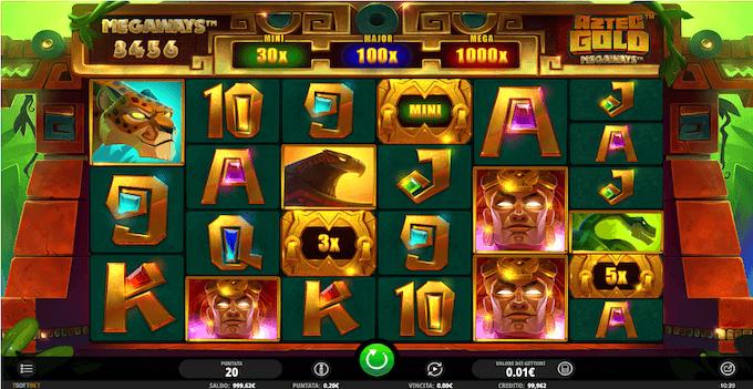 La slot machine Aztec Gold Megaways