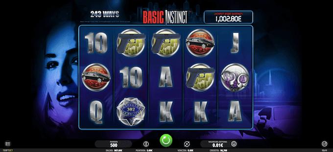 Basic Instinct nei casino online in Italia