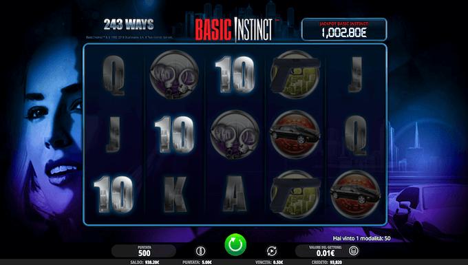 Basic Instinct è anche nei casino online in Italia!