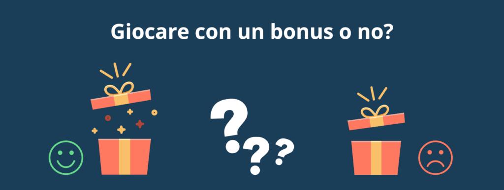 Conviene usare un bonus al casinò online?