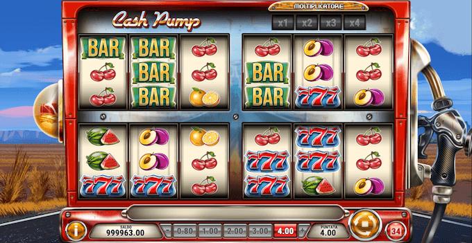 La slot machine Cash Pump