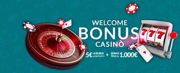 Eurobet Casinò - Welcome Bonus