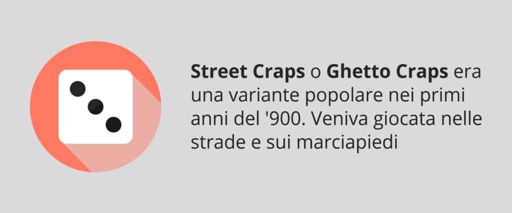 Le varianti popolari del gioco del Craps nei primi del '900