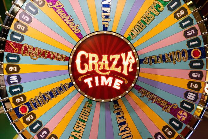 La ruota della fortuna di Crazy Time