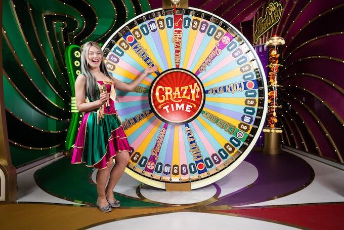 Crazy Time - La sessione di gioco principale