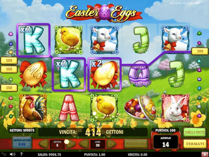 Le funzioni della slot di Play n Go