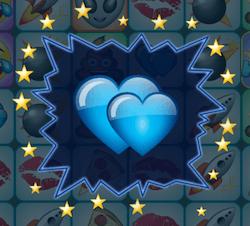 Two Hearts feature - Le funzioni della slot emoji Planet