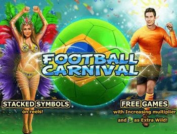 La video slot Playtech ispirata al calcio - Football Carnival