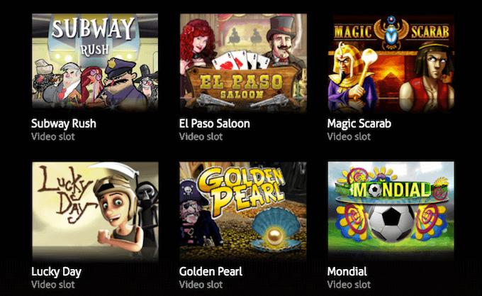 Le video slot del provider di giochi per casinò Game 360
