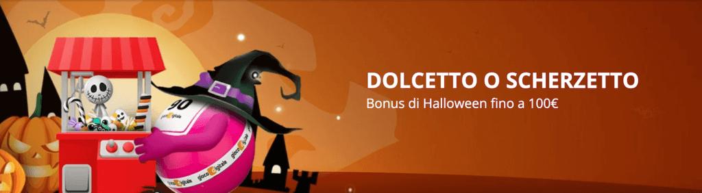 Bonus Halloween 2021 - Dolcetto o Scherzetto di Gioco Digitale