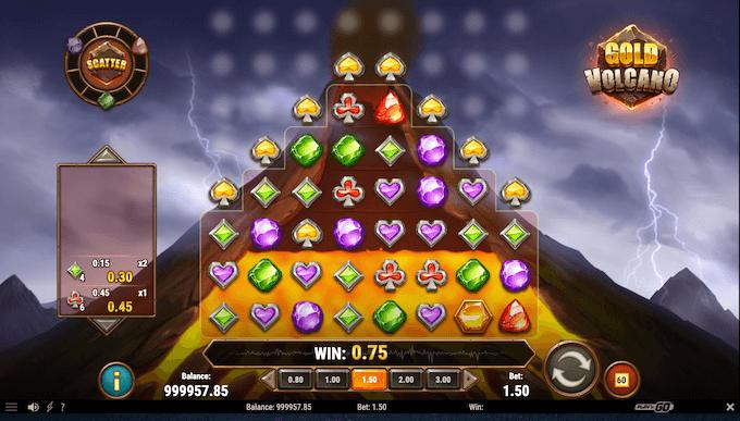 Gold Volcano - La slot machine