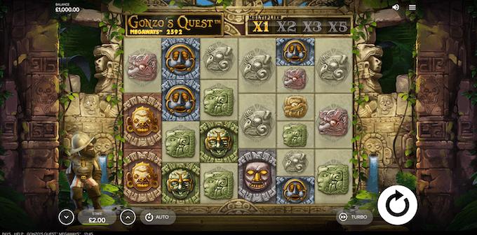 La slot machine Gonzo's Quest Megaways