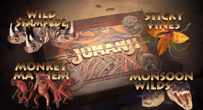 Jumanji - Benvenuti nella giungla di Netent!