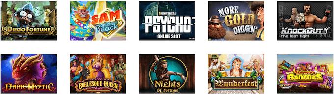 Tutti i giochi di La fiesta Casino