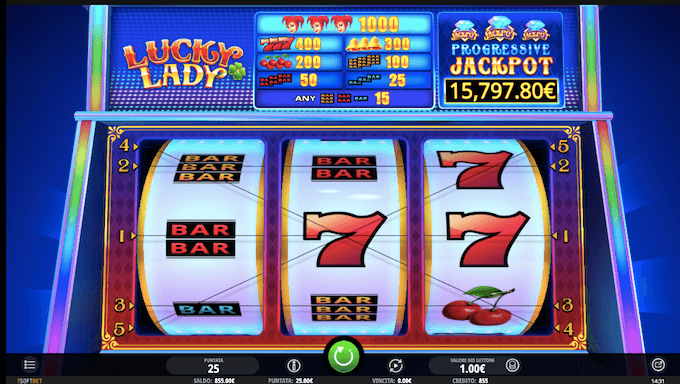 Lucky Lady di iSOFTBET