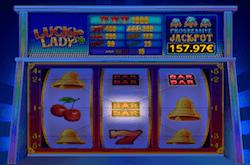 Il jackpot progressivo di Lucky Lady