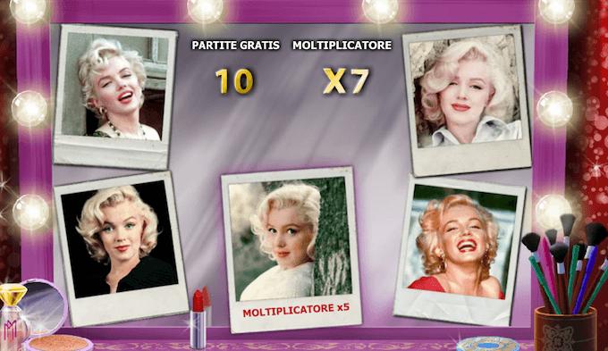 Scopri di più su Marilyn Monroe, la slot Playtech!