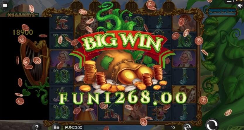 Alla slot Megaways Jack si possono ottenere grandi vincite!