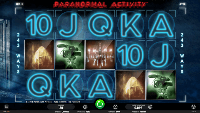 Paranormal Activity - Giochi dei casino online sicuri