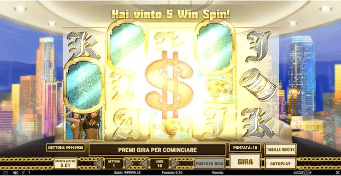 Slot Pimped - La modalità free spin
