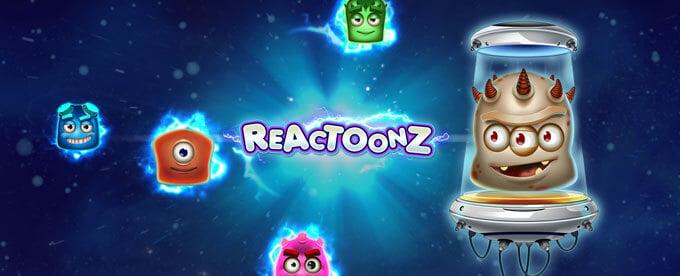 Gli alieni di Reactoonz scendono tra noi