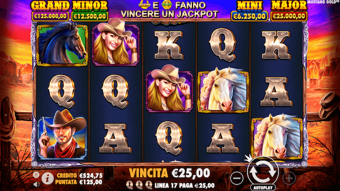 Recensione Mustang Gold - Jackpot x4!