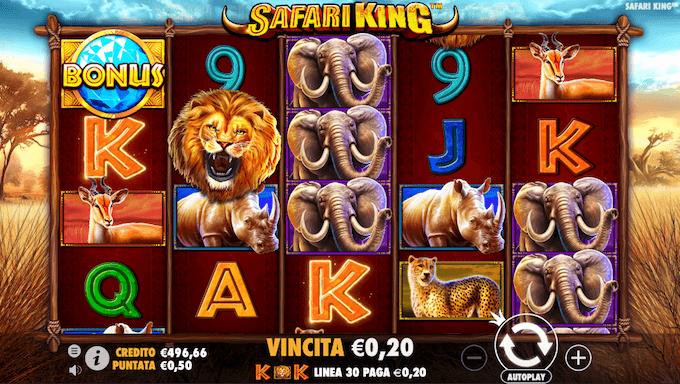 Recensione della video slot Safari King