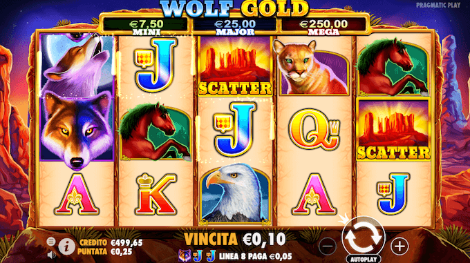 La recensione della slot con jackpot Wolf Gold