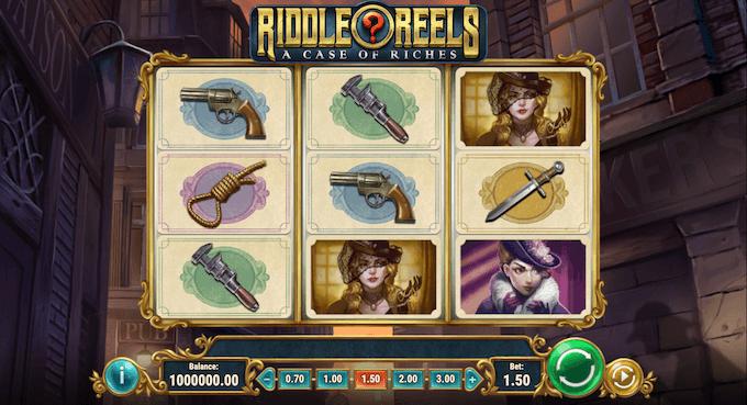 La slot machine Riddle Reels: A Case of Riches