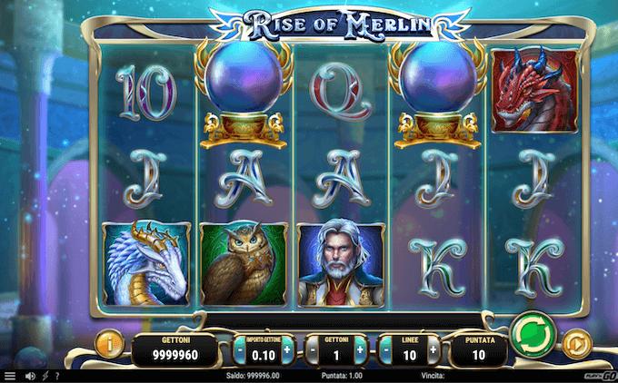 Rise of Merlin: la slot machine di Play'n GO