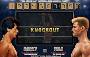 Gli avversari vanno al tappeto con Rocky!