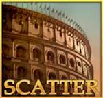 Simbolo scatter di Gladiator, slot per casinò