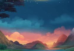La magica valle di Lights