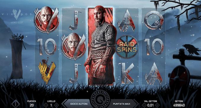 Vikings - La slot machine