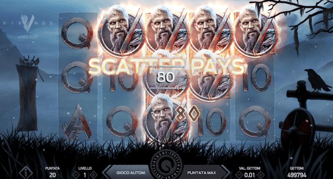 La slot machine Vikings