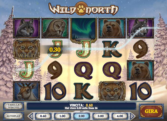 Wild North - La slot machine delle terre del Nord