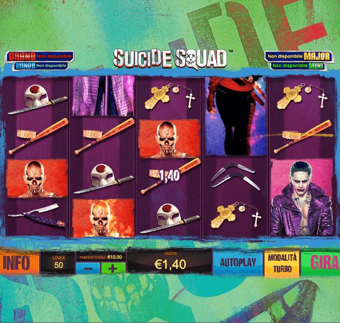 Suicide Squad, la slot di Playtech