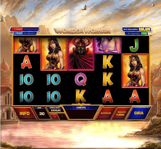 Wonder Woman - La slot machine di Playtech