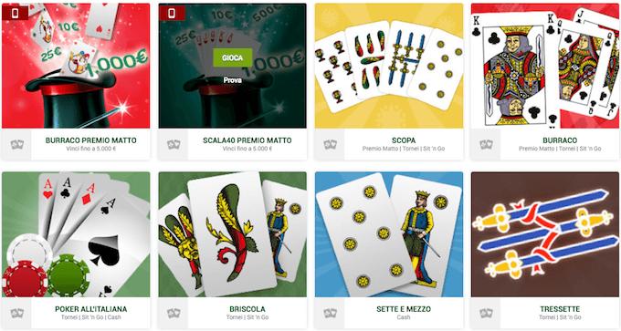 I giochi di carte e le video slot di Sisal nella nostra recensione