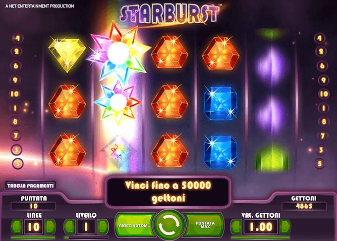 Starburst - La nostra recensione della slot Netent
