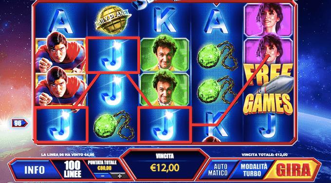 La slot machine Superman - The Movie - Scopri come vincere il jackpot progressivo!