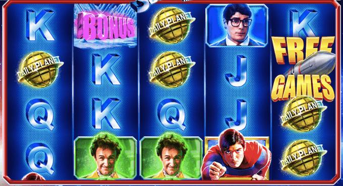 Slot machine Superman - The Movie - Jackpot e funzioni bonus