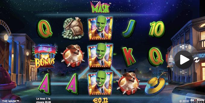 The Mask - Le funzioni della slot dei casino italiani