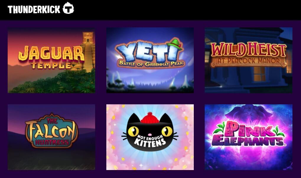 Alla scoperta delle slot machine online di Thunderkick.