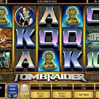 Slot machine di Tomb Raider
