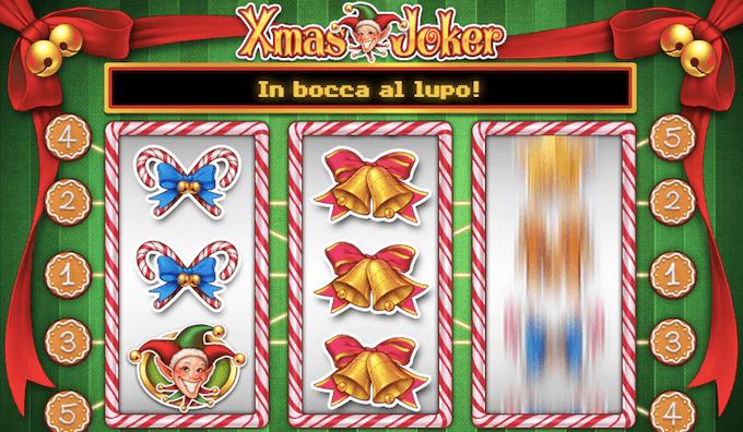 Elfi e Babbo Natale nei casinò italiani!